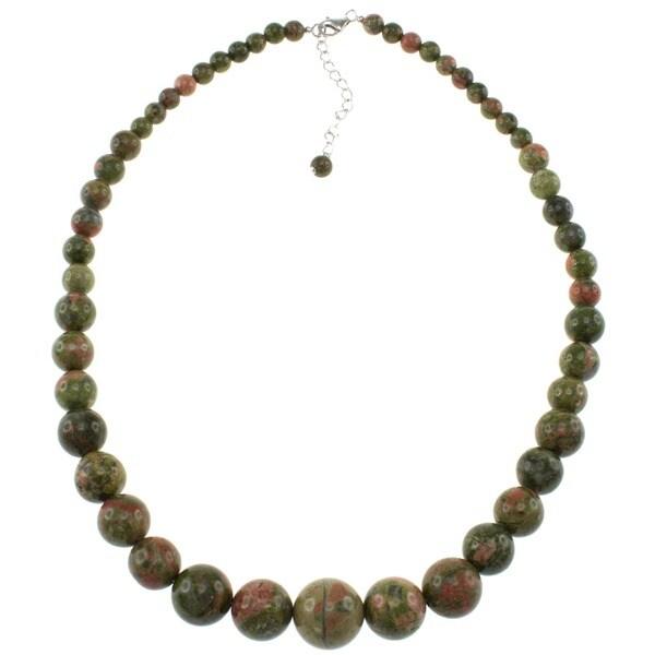 Pearlz Ocean Unakite Journey Necklace