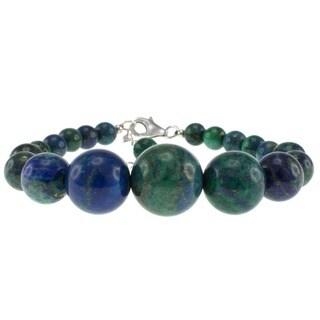 Pearlz Ocean Sterling Silver Azurite Journey Bracelet