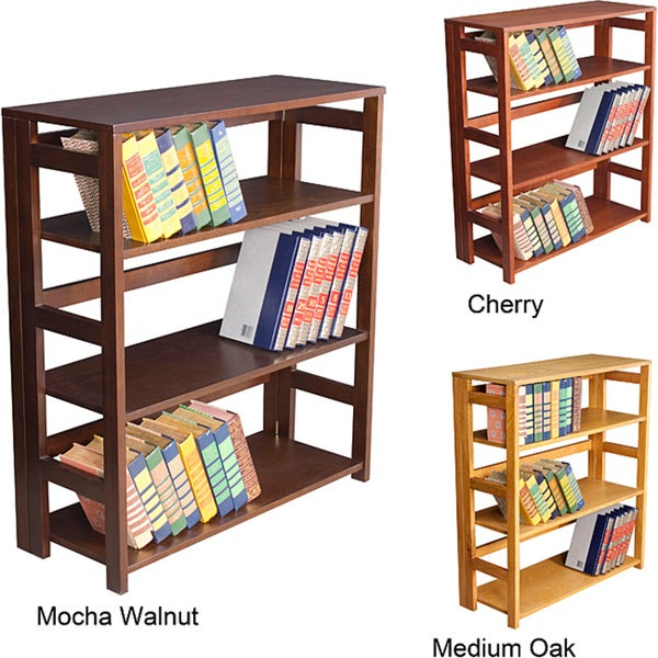 flip flop 34inch high folding bookcase