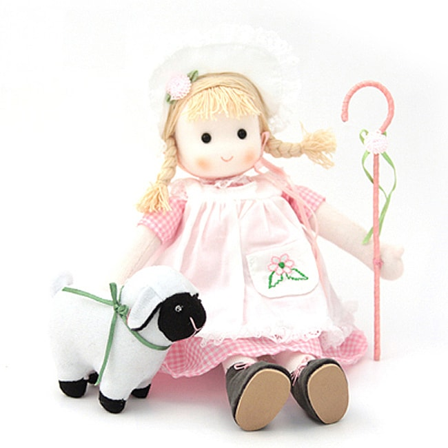 Little Bo Peep Storybook Collectible Musical Doll