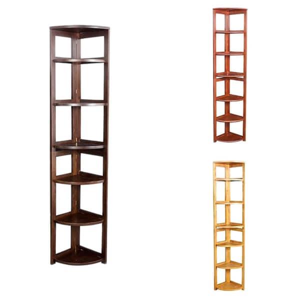 Corner Flip Flop 67-inch High Folding Bookcase