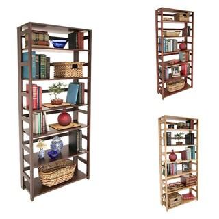 Flip Flop 67-inch Folding Bookcase|https://ak1.ostkcdn.com/images/products/6310522/P13938919.jpg?_ostk_perf_=percv&impolicy=medium