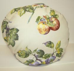 RLF Home Apple Tree Round Throw Pillow/ Chair Pad (Set of 2)
