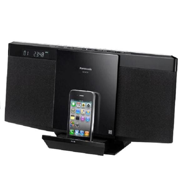 Panasonic SC-HC25 Compact iPod/ iPhone Dock System (Refurbished)