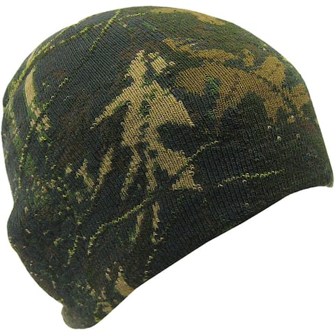 Quiet Wear Youth Digital Knit Camo Cap