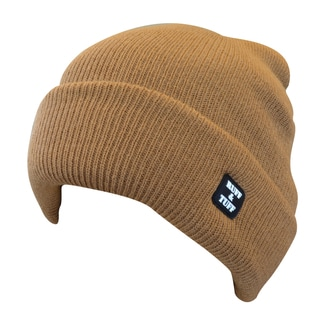 Quiet Wear Ruff & Tuff 4-layer Brown Cuff Cap