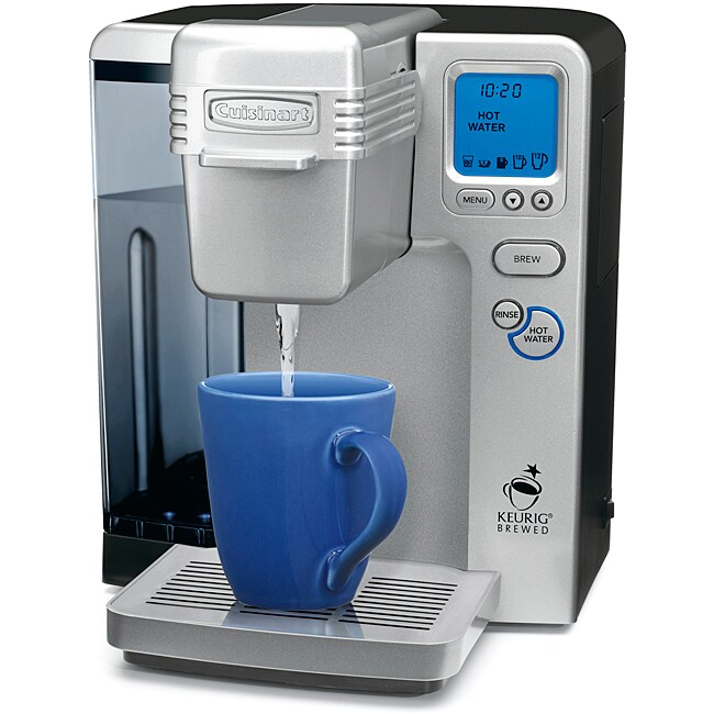 Cuisinart SS-700FR Silver Single Serve Brewing System (Refurbished)