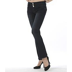 MDZ Women's 'Heidi' Black Bootcut Denim Jeans