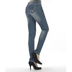 MDZ Women's 'Stella' Medium Wash Skinny Jeans