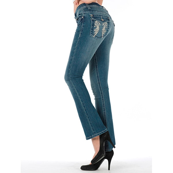 MDZ Women's 'Kloe' Medium Wash Bootcut Jeans