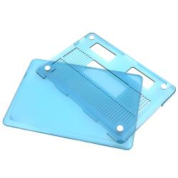INSTEN Clear Blue Snap-on Laptop Case Cover for Apple MacBook Pro 13-inch - Thumbnail 1