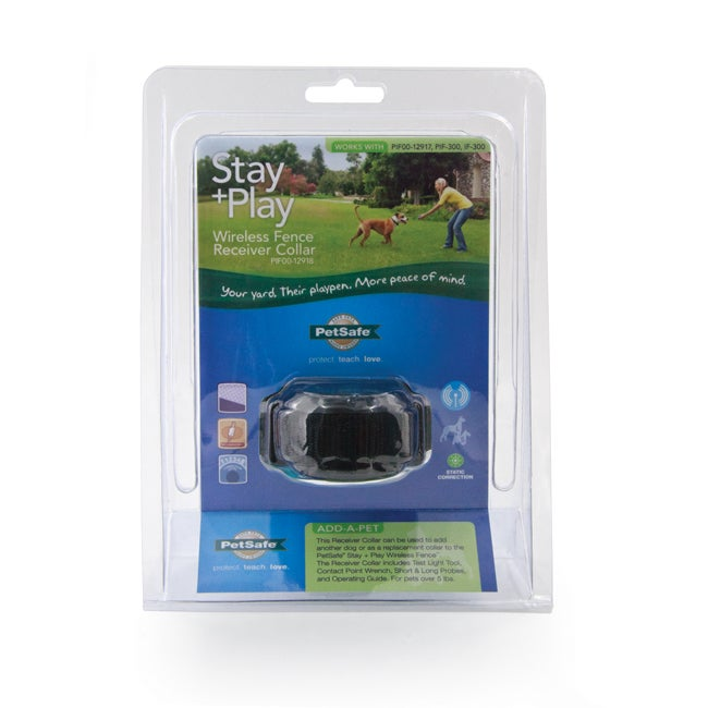 Pet Safe Stay Amp Play Wireless Fence Receiver Collar Free