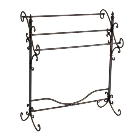 Gracewood Hollow Alleyn Metal Quilt Rack