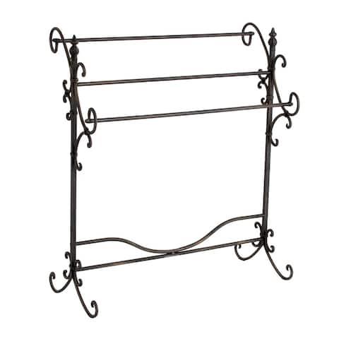 Gracewood Hollow Alleyn Metal Quilt Rack