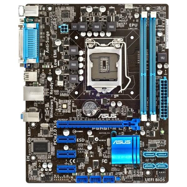 Asus P8H61-M LX PLUS REV 3.0 Desktop Motherboard - Intel H61(B3) Expr