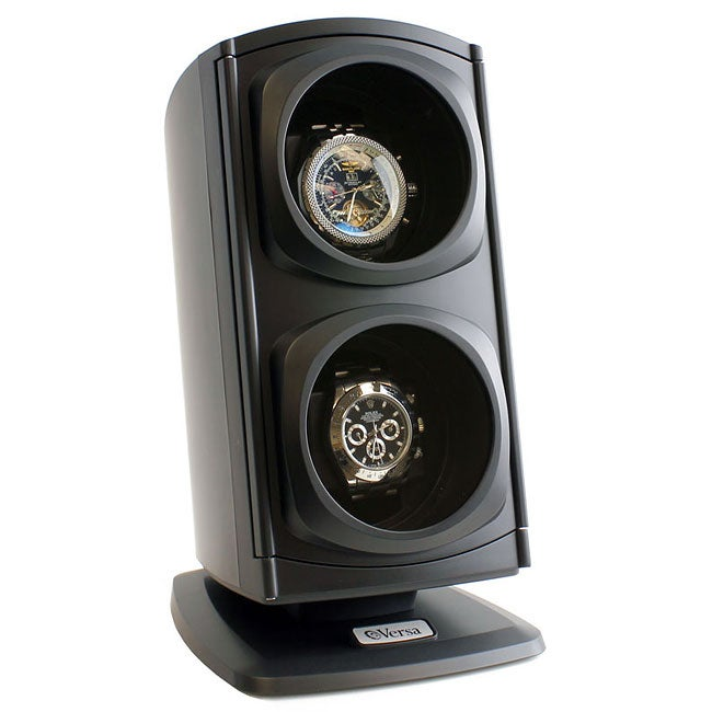 Versa Automatic Black Double Watch Winder - Thumbnail 0