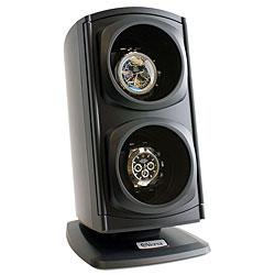 Versa Automatic Black Double Watch Winder