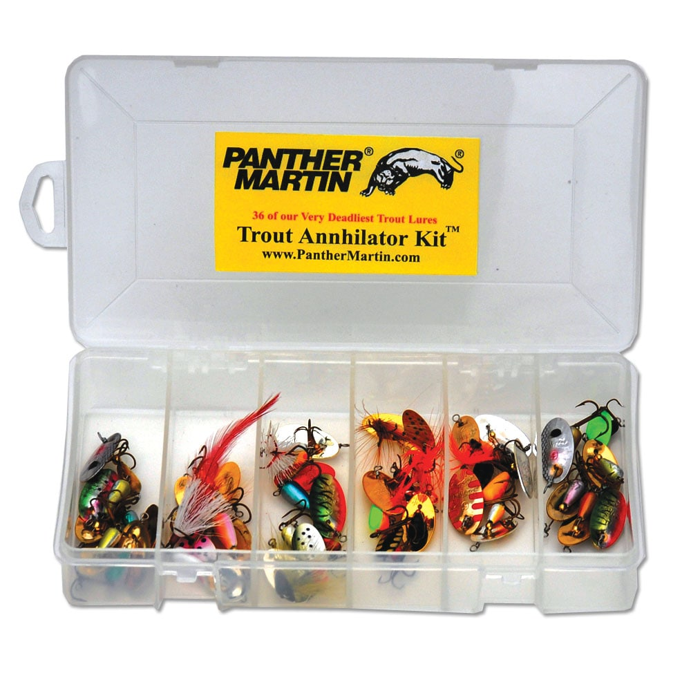 panther martin 36-piece trout kit - free shipping today, Fly Fishing Bait