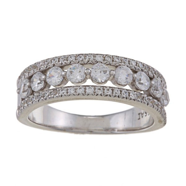 14k White Gold 1ct TDW Diamond Anniversary Band (H-I, I2-I3)