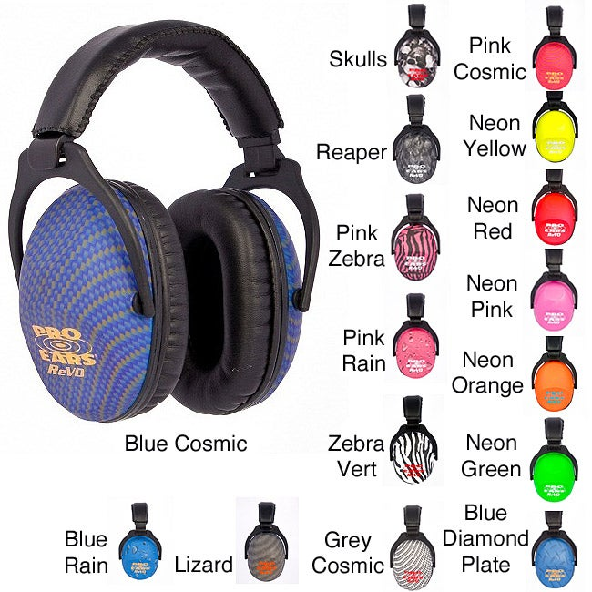 Pro Ears ReVO NRR 25 Hearing Protection Ear Muffs Youth and Women's Ear Muffs