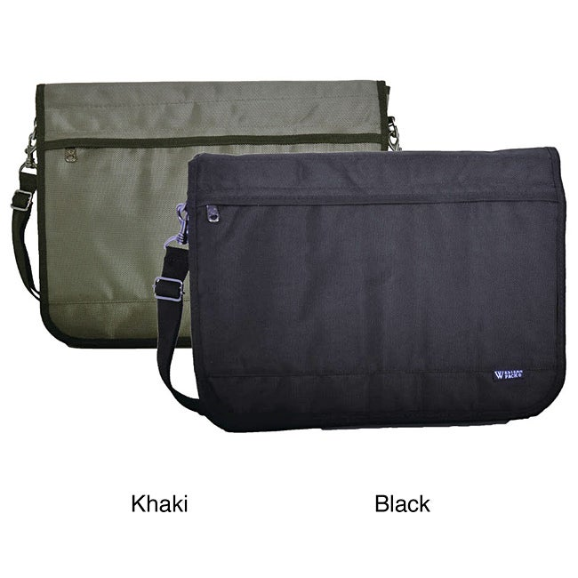 Western Pack Date Shield 15-inch Laptop Messenger Bag - Thumbnail 0