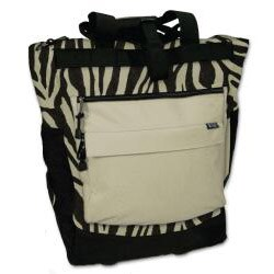 Western Pack 20-inch 600-denier Polyester Rolling Shopper Tote - Thumbnail 1
