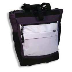 Western Pack 20-inch 600-denier Polyester Rolling Shopper Tote - Thumbnail 2