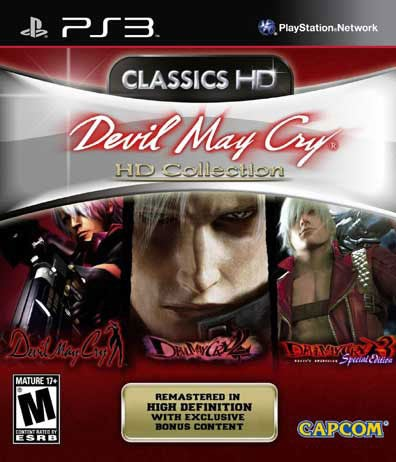 PS3 - Devil May Cry Collection