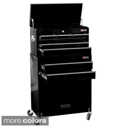 excel 24inch 8drawer tool chest and roller cabinet combination