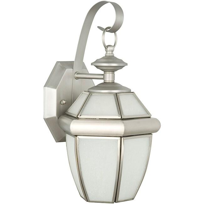 One Light Curved Lantern