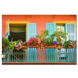 AIANA 'Veranda Garden' Canvas Art