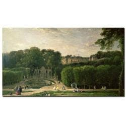 Charles Daubigny 'The Park at St.Cloud' Canvas Art