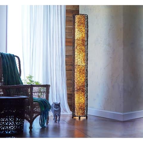 Handmade Nito Floor Lamp (Philippines)