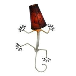 Burgundy Gecko Wall Lamp (Philippines)