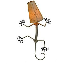 Natural Gecko Wall Lamp (Philippines)