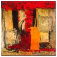 Joarez 'Victory IV' Canvas Art