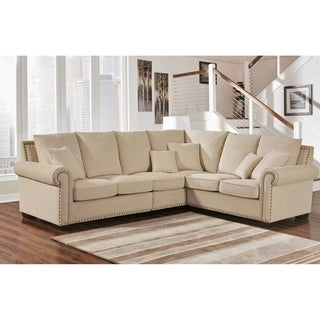 Abbyson Santa Barbara Fabric Sectional