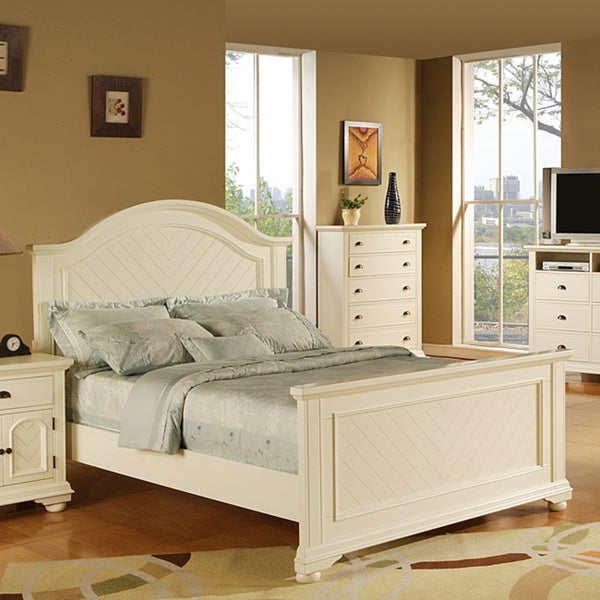 Picket House Furnishings Addison White Queen Panel Bed