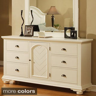 Picket House Addison White Dresser