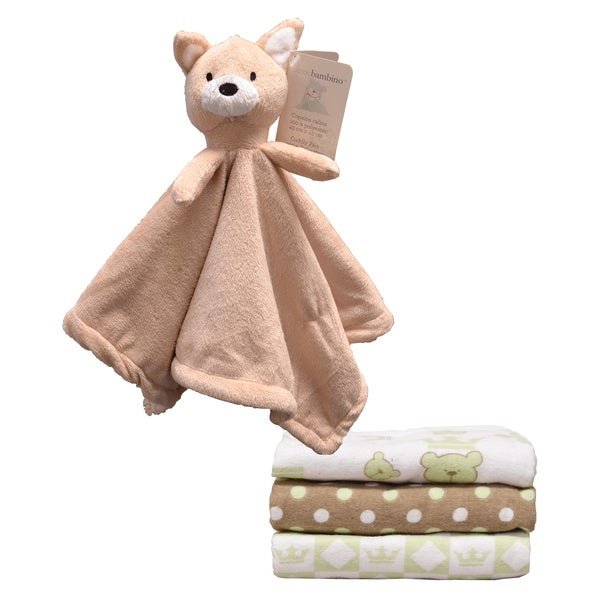 Shop Piccolo Bambino Cuddly Squirrel And Receiving Blanket
