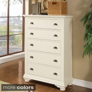 Picket House Napa 5-drawer White Chest