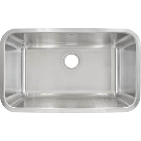 LessCare Stainless Steel Undermount Sink L107
