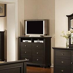 Picket House Napa Black 6-drawer Media Chest