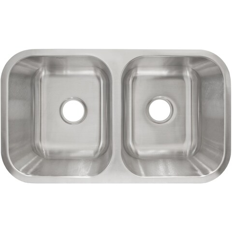 LessCare L205 Undermount Stainless Steel Sink - Silver
