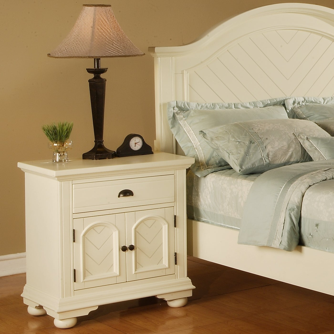 Picket House Furnishings Addison White Nightstand