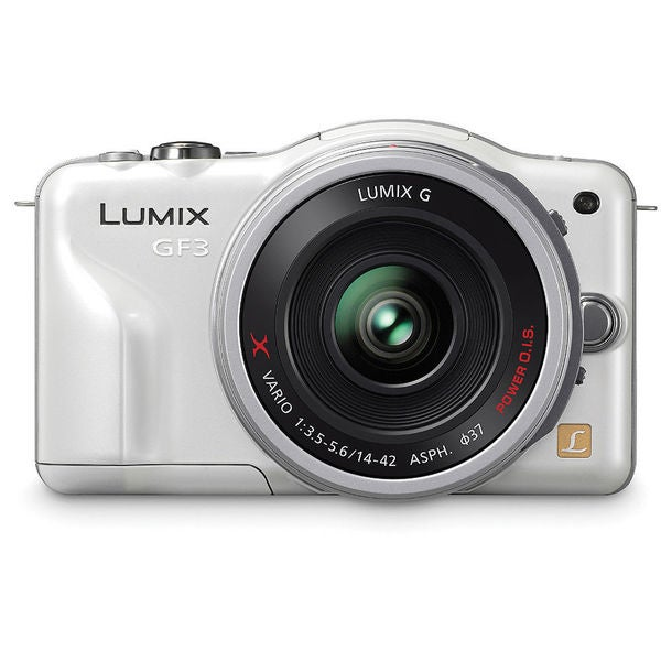 Panasonic Lumix DMC-GF3 12.1 Megapixel Mirrorless Camera with Lens -