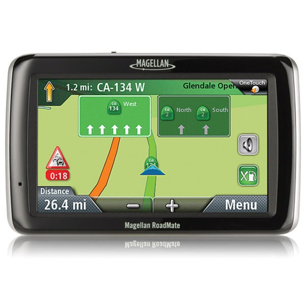 Magellan RoadMate 2045T-LM 4.3-inch GPS Navigation System with Lifetime Maps & Traffic