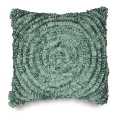 Victoria Dupioni Silk Teal Throw Pillow