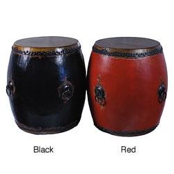 Handmade Chinese Vintage Style Drum Stool