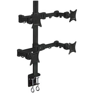 Mount-It! Quad Arm 27-inch Monitor Desk Mount